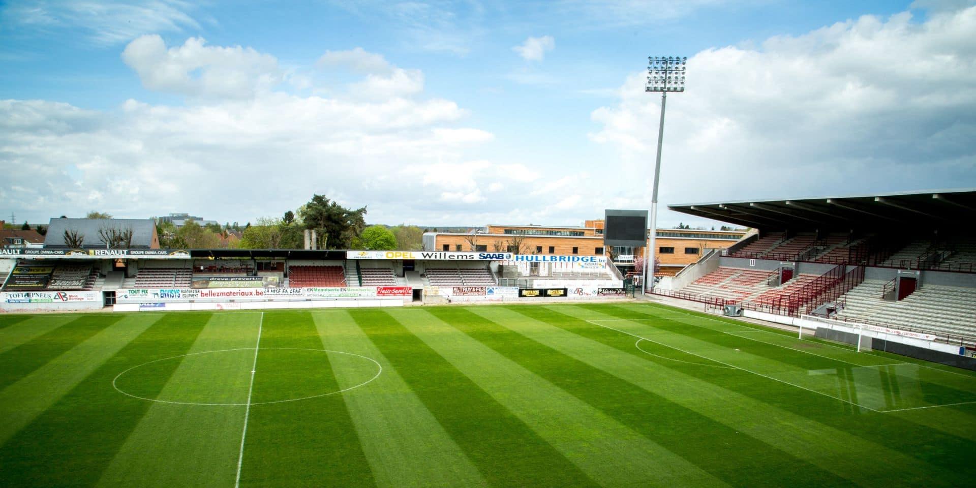 Mons: Le centre de testing déménage au stade Tondreau