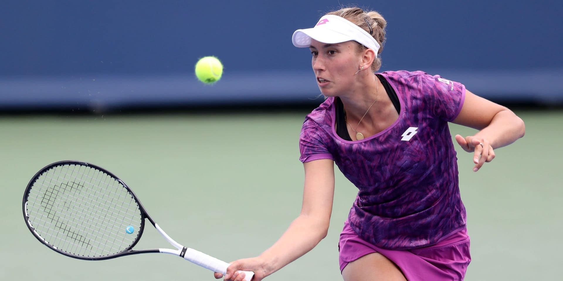 WTA Cincinnati - Elise Mertens rejoint Elina Svitolina au 2e tour