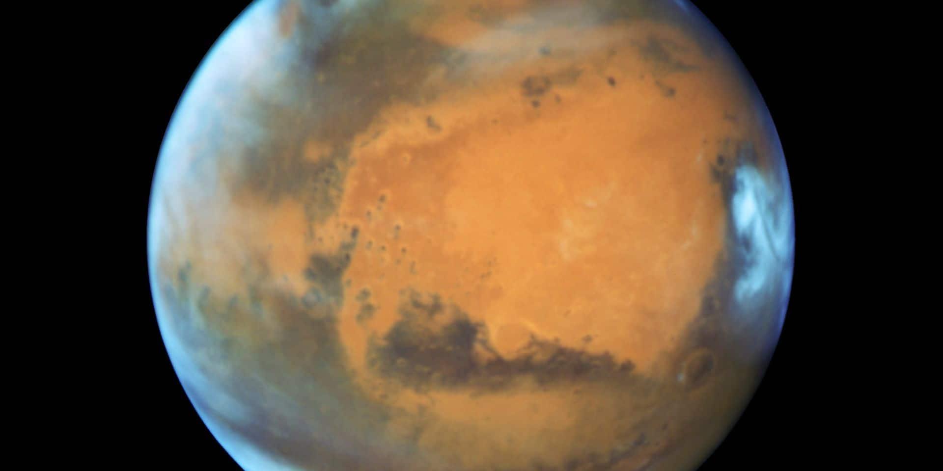Une lueur verte détectée sur Mars par l'instrument belge de mesure NOMAD