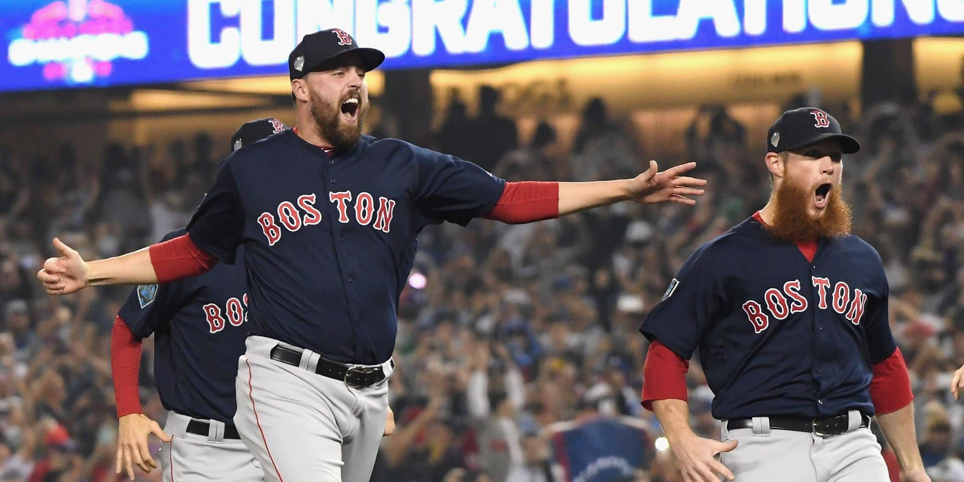 MLB: les Boston Red Sox remportent les World Series !