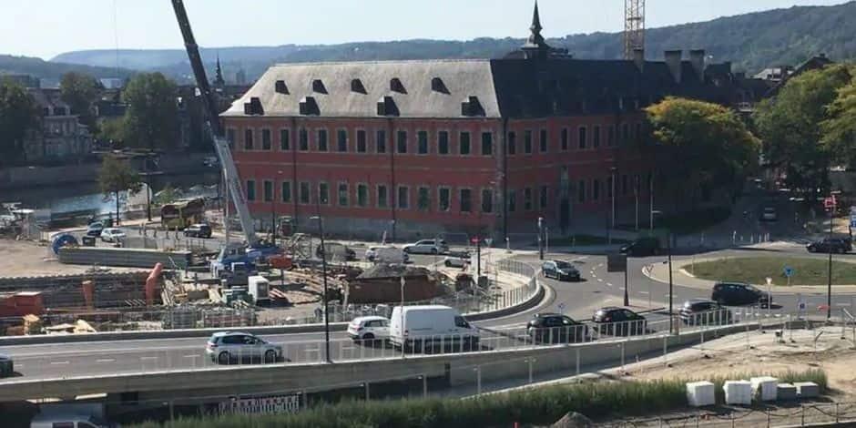 Namur: la fin des travaux du site de la Confluence attendue fin 2021