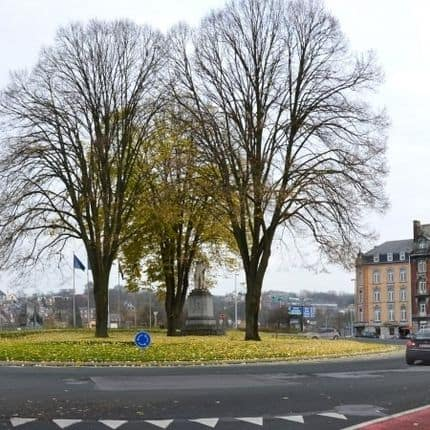 D'importants embarras de circulation attendus autour du rond-point Léopold à Namur
