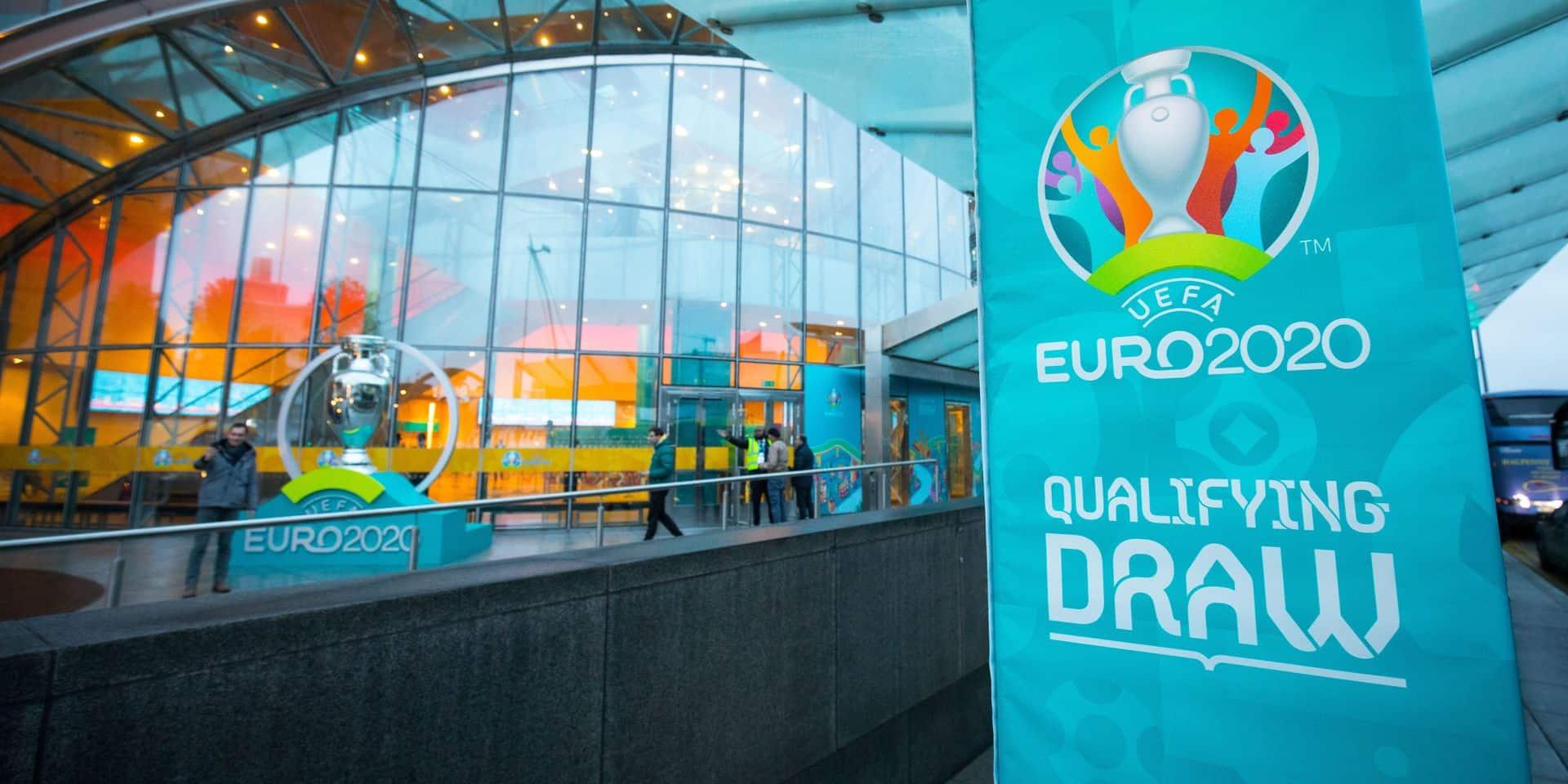 Euro 2020: suivez le tirage au sort des qualifications en direct video