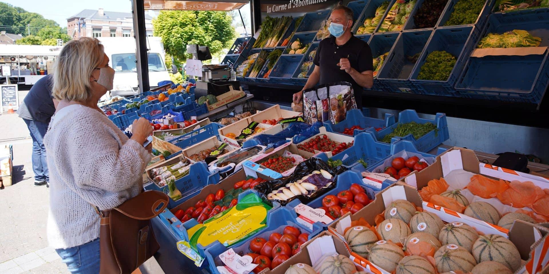 Le marché du dimanche fait son retour à Néchin !