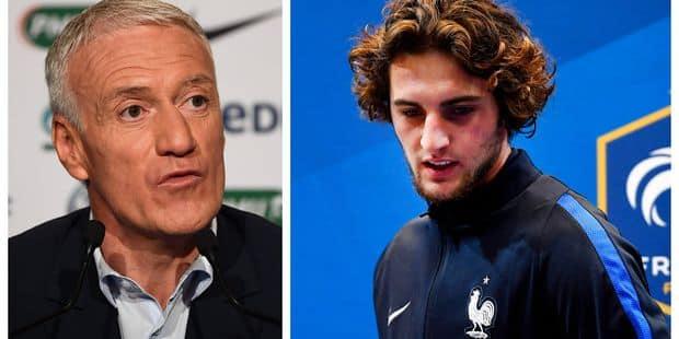 """Scandale Rabiot en équipe de France: il a fait """"une énorme erreur"""", réagit Deschamps (VIDEOS) - La DH"""