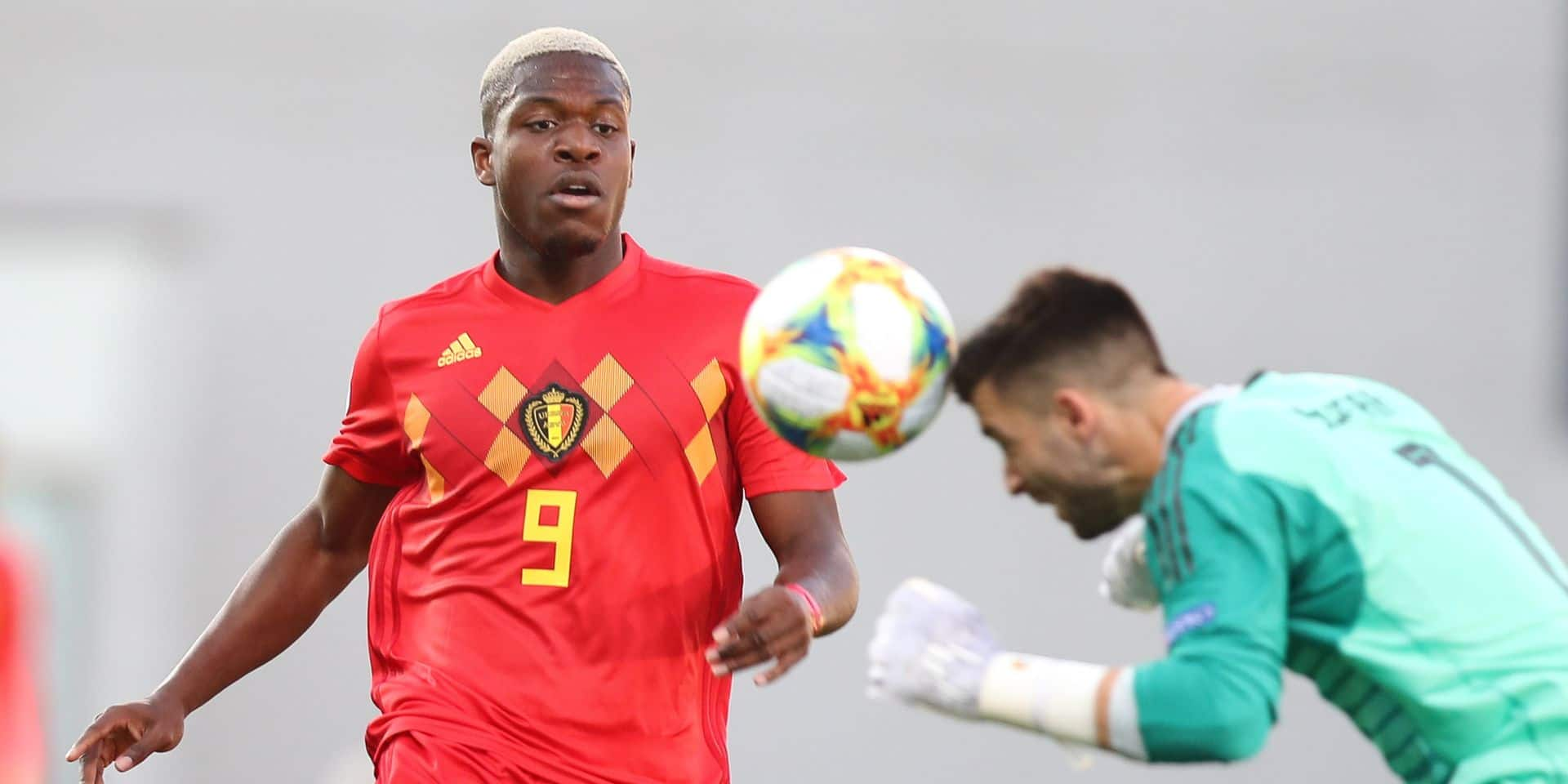 Aaron Leya Iseka est de retour en Ligue 1