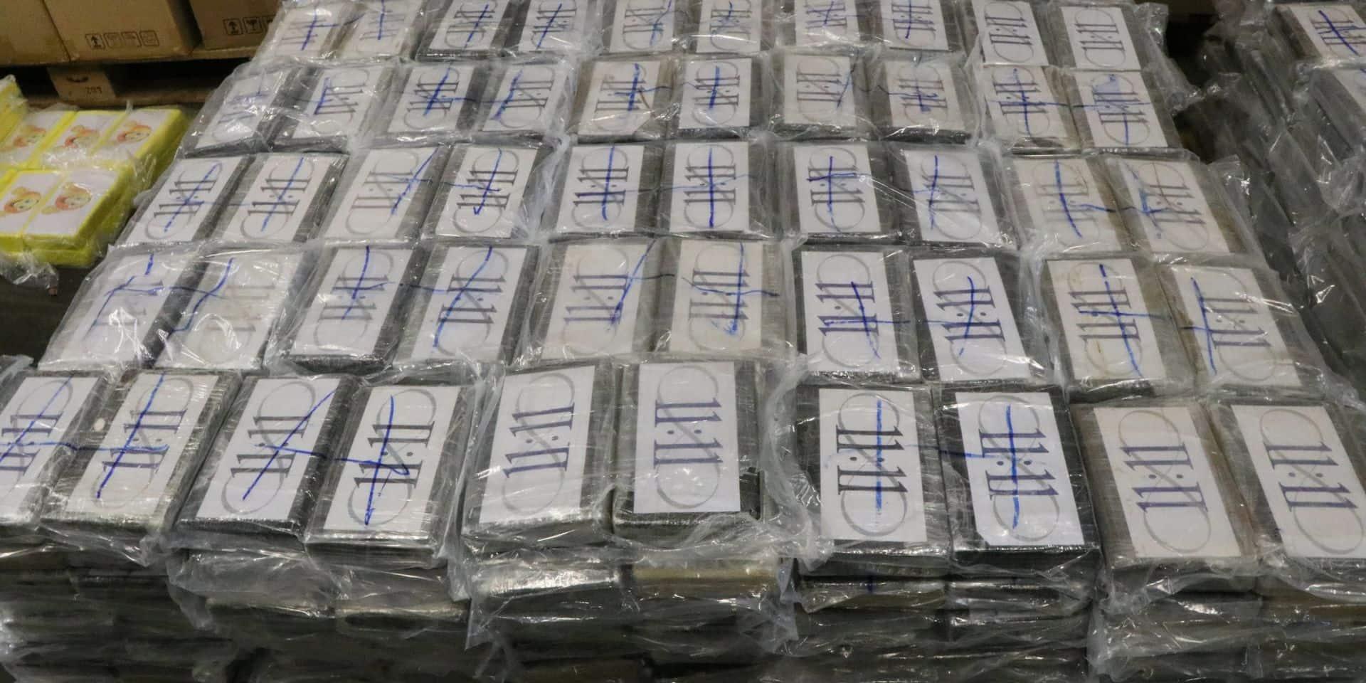"""Saisie de plus d'une tonne de cocaïne au Havre, la """"plus importante"""" cette année"""