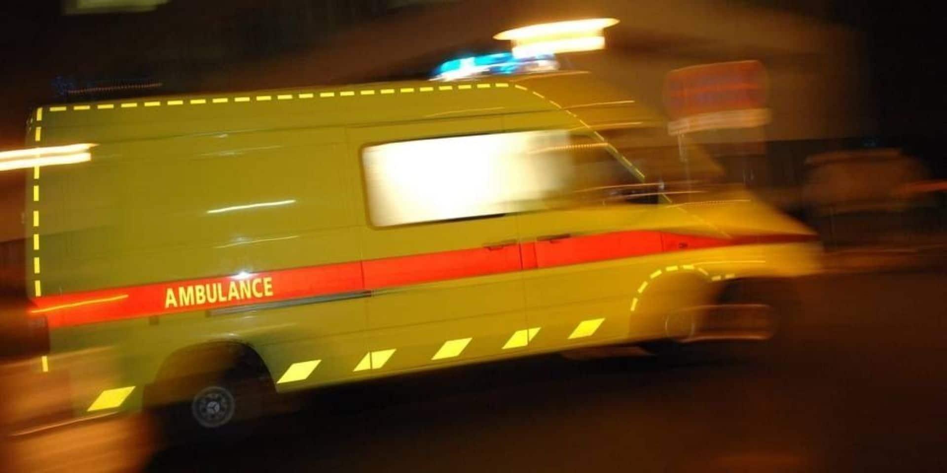 Accident de la route à Mierchamps : un blessé léger