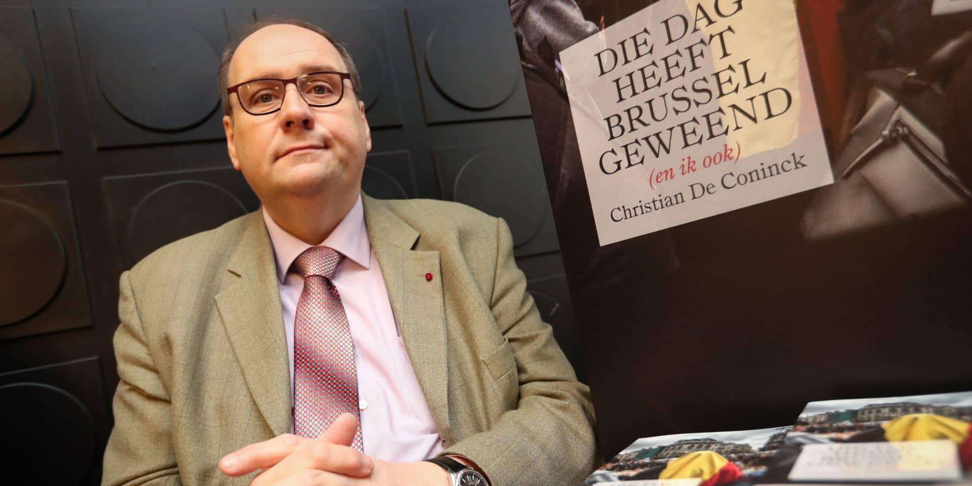 """Un porte-parole de la police revient sur les attentats de Bruxelles dans un livre: """"Je souffre de stress post-traumatique mais je n'ai pas voulu l'accepter tout de suite"""""""