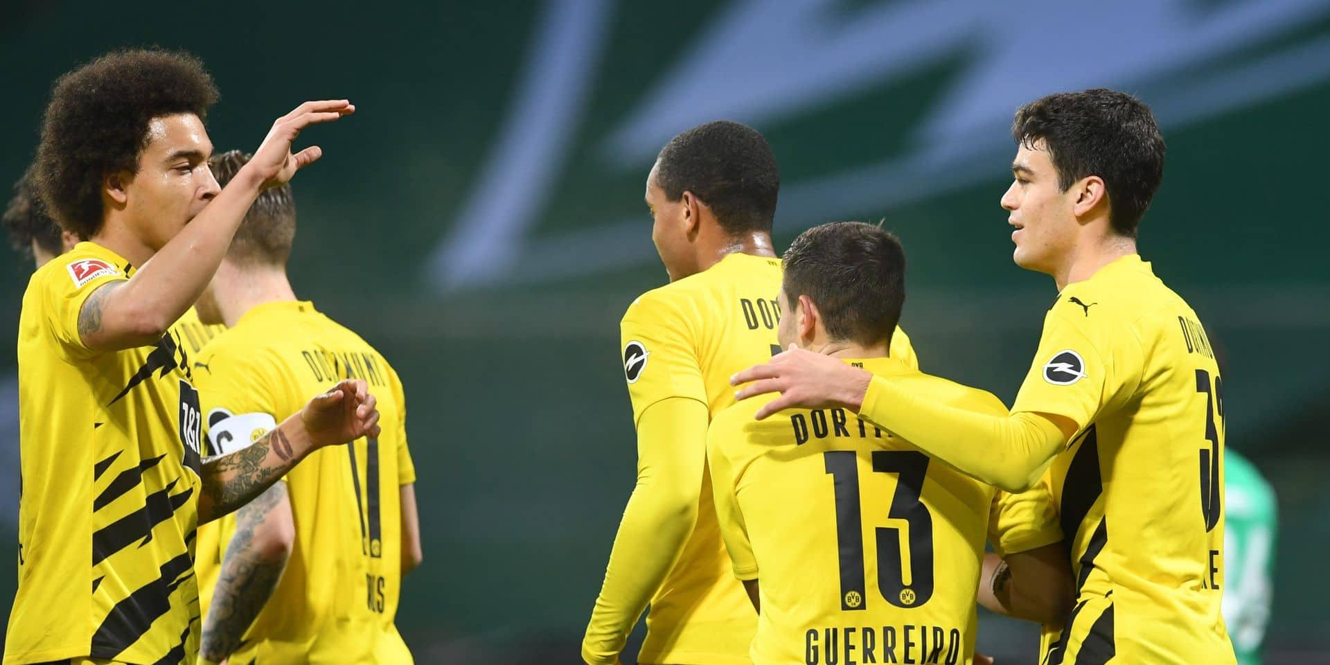 Dortmund s'est imposé à Brême, Manchester City bloqué par West Bromwich