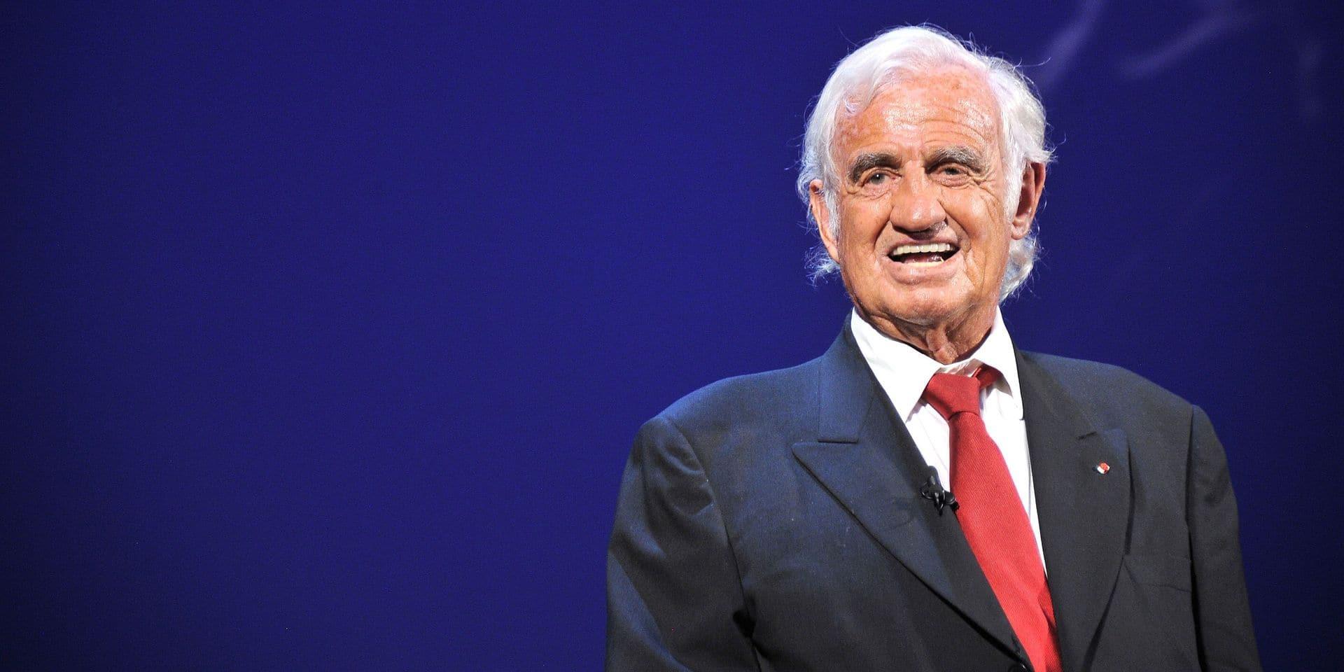 """Jean-Paul Belmondo invité surprise des """"Gants d'or"""" à Bruxelles"""