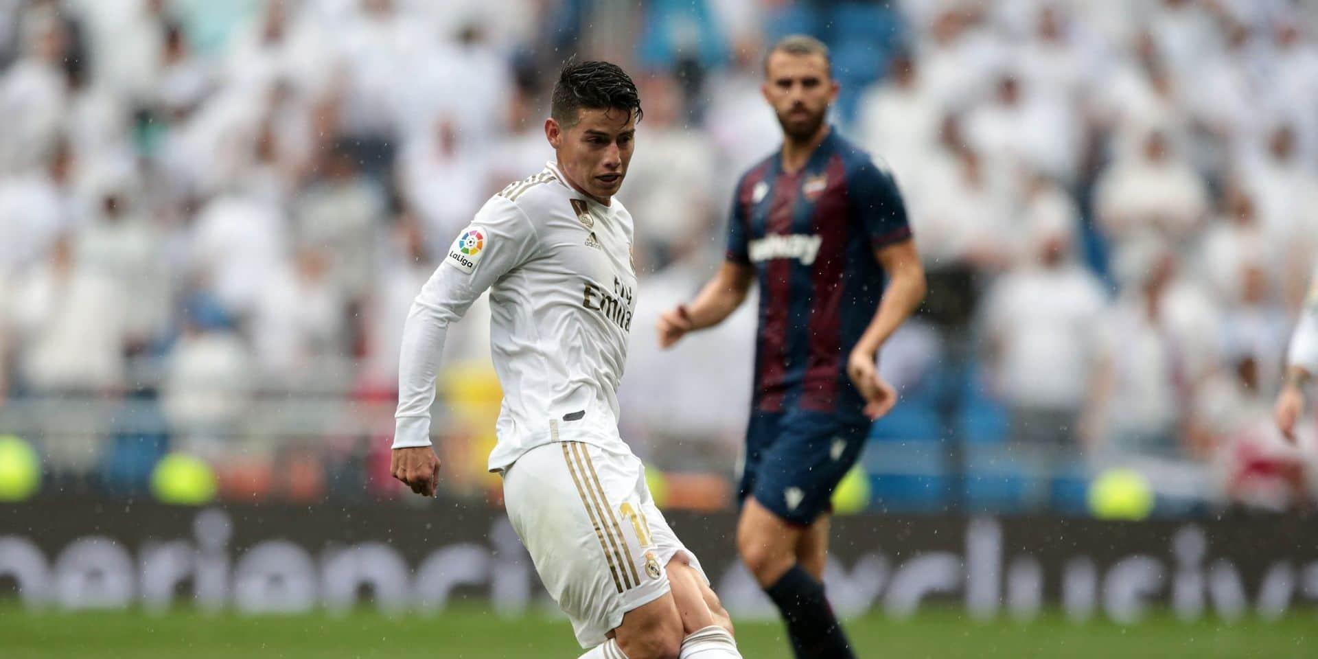 Malgré un retour face à la Sociedad, James Rodriguez se sent mal au Real qu'il devrait quitter cet été