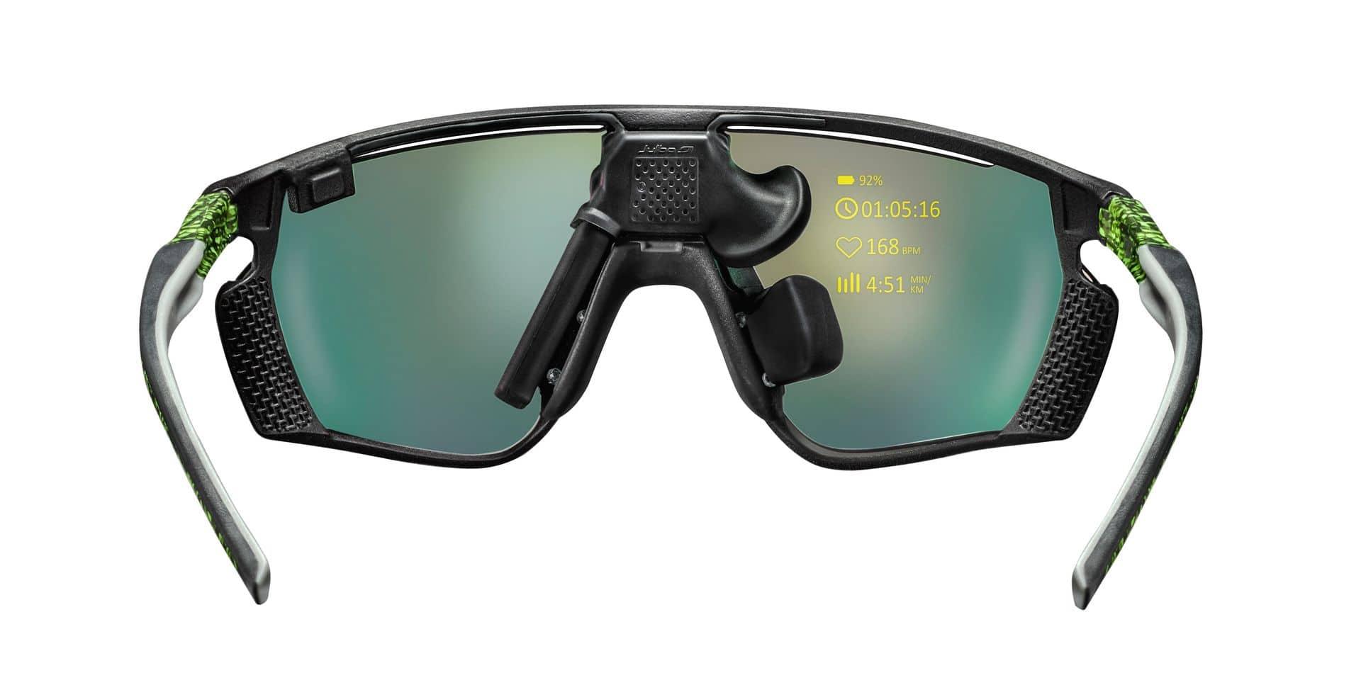 Avec les Evad-1, vos données de course directement sur vos lunettes