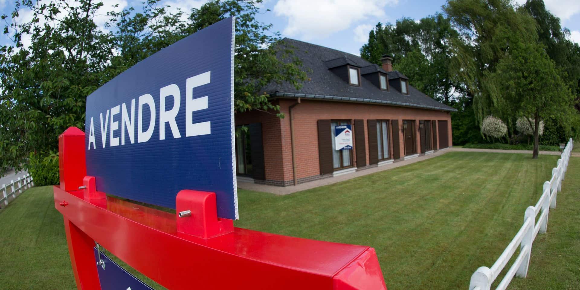 Le marché immobilier au plus haut : à Bruxelles, le prix moyen d'une maison dépasse pour la première fois la barre des 500.000 € !