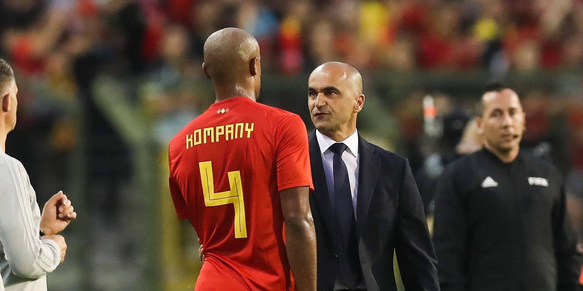 """""""Ce n'est pas moi qui ai fait la sélection de Martinez!"""": Kompany réagit suite à la présence de 5 Anderlechtois chez les Diables"""