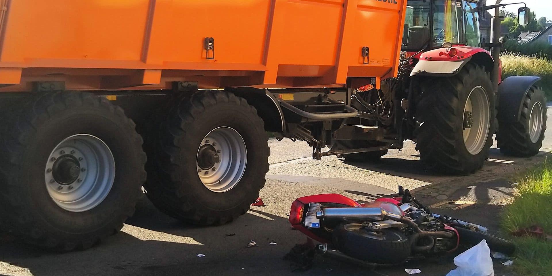 Chapelle-à-Wattines: Une manoeuvre de dépassement dangereuse fatale au motard
