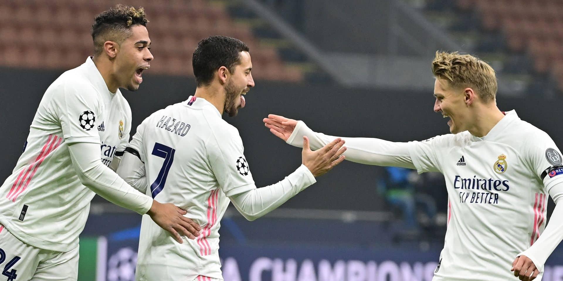 Le Real de Hazard élimine (presque) l'Inter de Lukaku