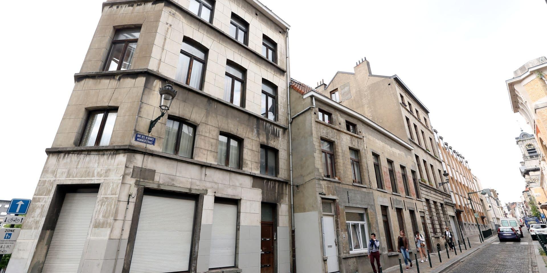 Fermeture d'un restaurant clandestin dans le quartier des Marolles à Bruxelles