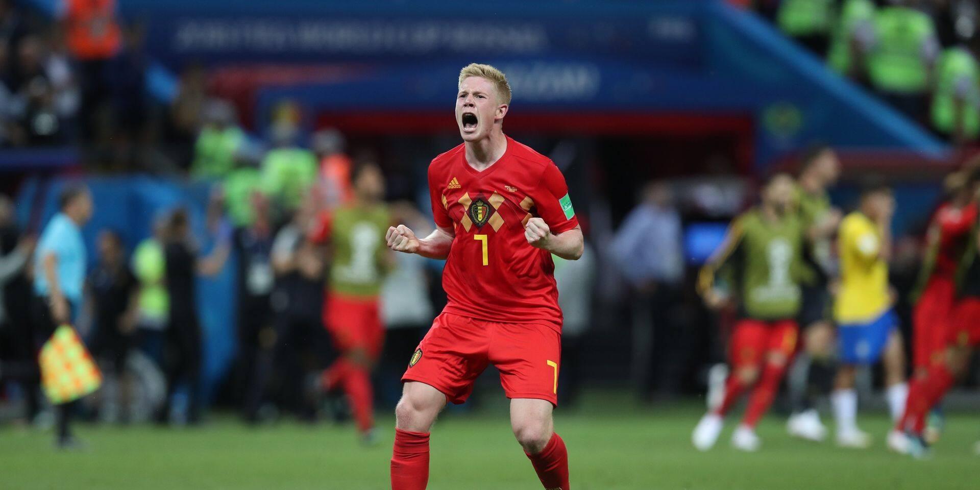 Kevin De Bruyne le joueur belge le plus cher, Eden Hazard hors du top 100