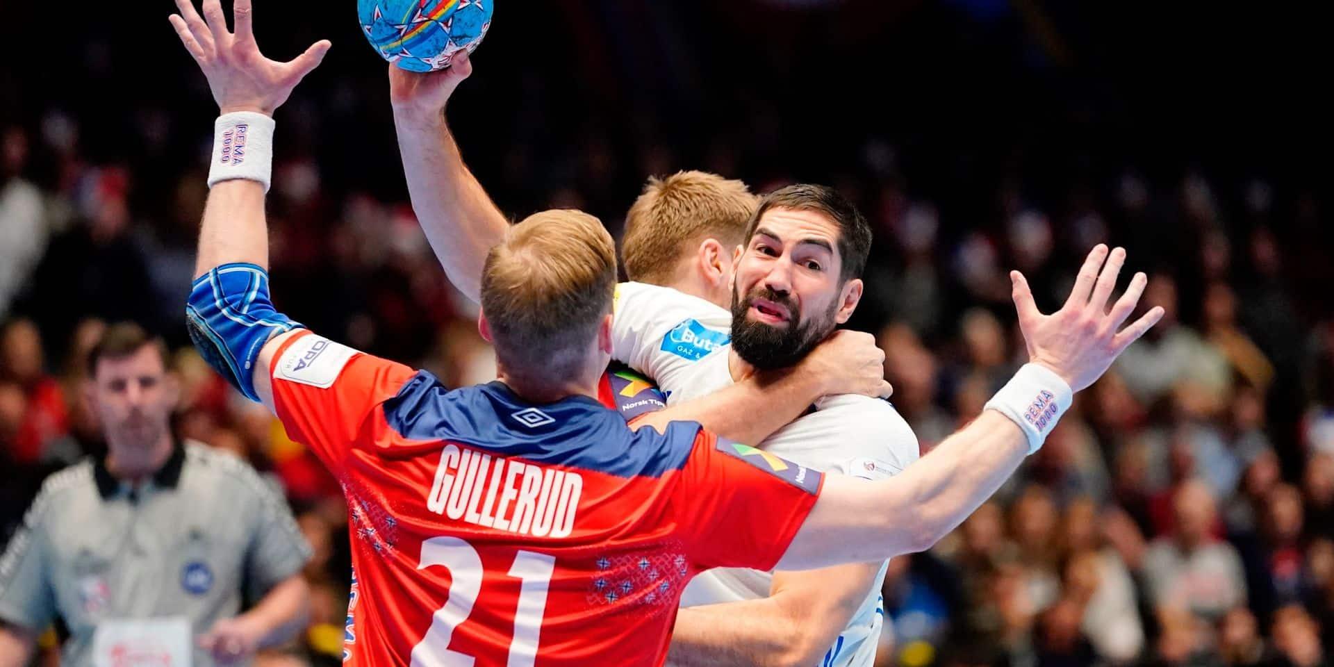 Euro de hand: les Français éliminés au premier tour après leur défaite contre la Norvège