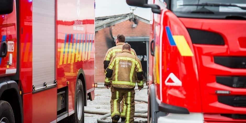 Intempéries : une dizaine d'interventions en province de Namur