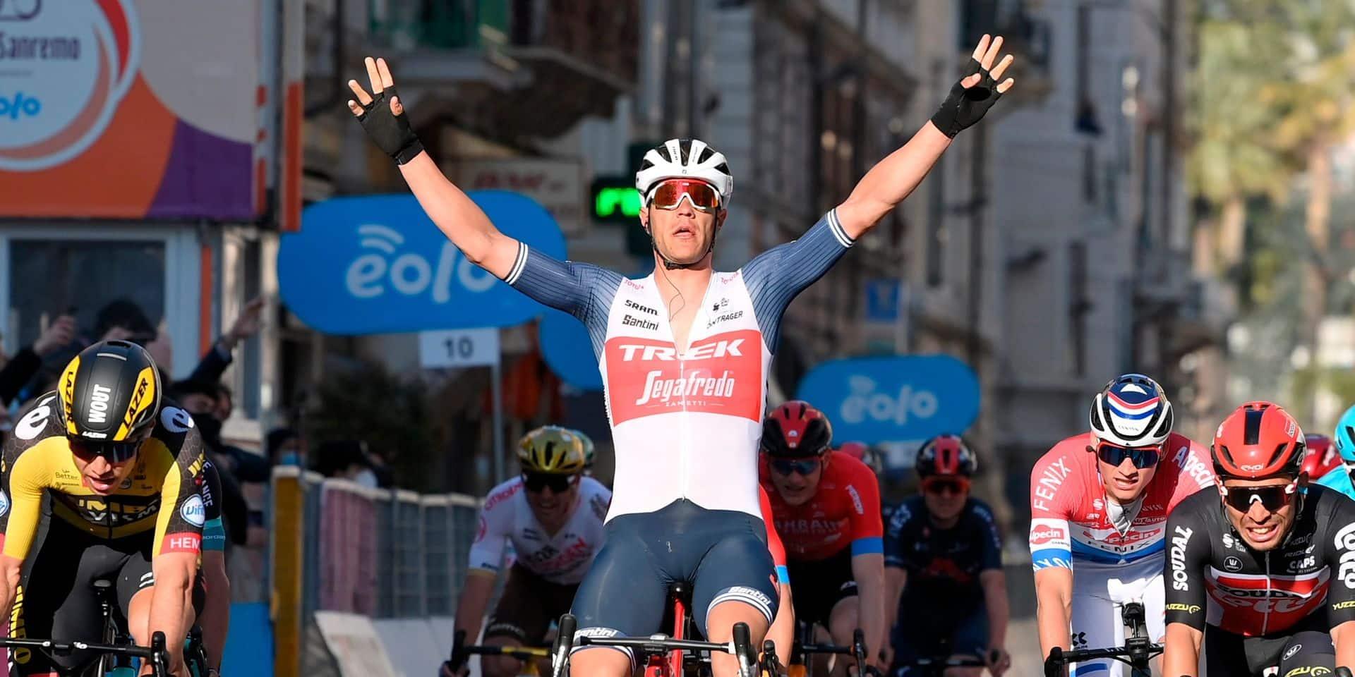 """Milan-Sanremo: pour Mathieu Van der Poel, """"le plus fort a gagné"""""""