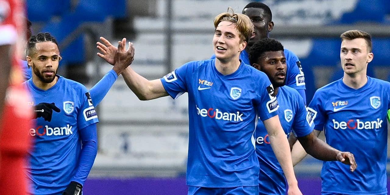 Genk domine l'Antwerp et assure sa deuxième place