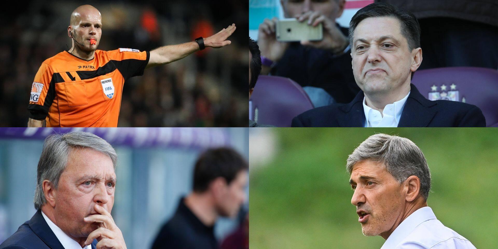 Delferière, Mazzu, Veljkovic, Van Holsbeeck: nouvelles révélations dans le Footgate
