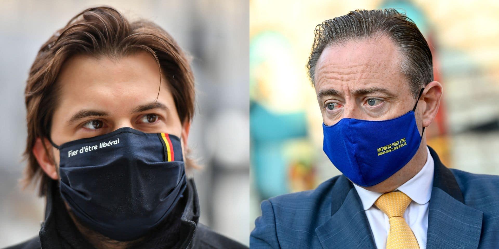 """Bart De Wever et Georges-Louis Bouchez s'affrontent dans un défi sportif : """"Ce duel est personnel"""""""