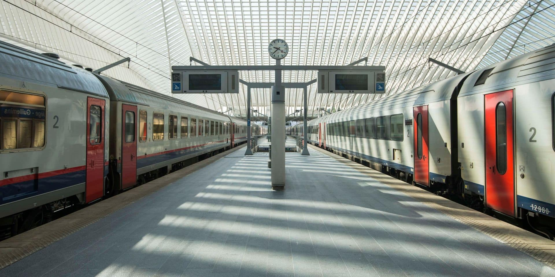 Le trafic ferroviaire interrompu durant plusieurs heures à Liège en raison d'une bagarre entre deux individus dangereux