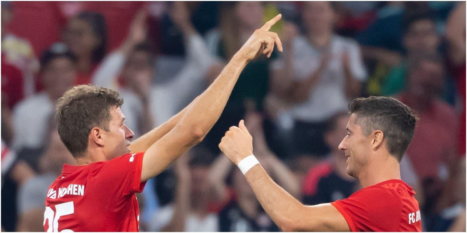 Le Bayern Munich pulvérise Fenerbahce et rejoint Tottenham en finale de l'Audi Cup