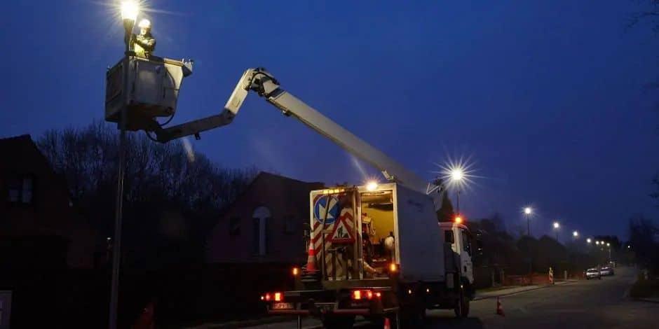 Eclairage intelligent : près de 3.600 points lumineux en LED à Andenne et Viroinval