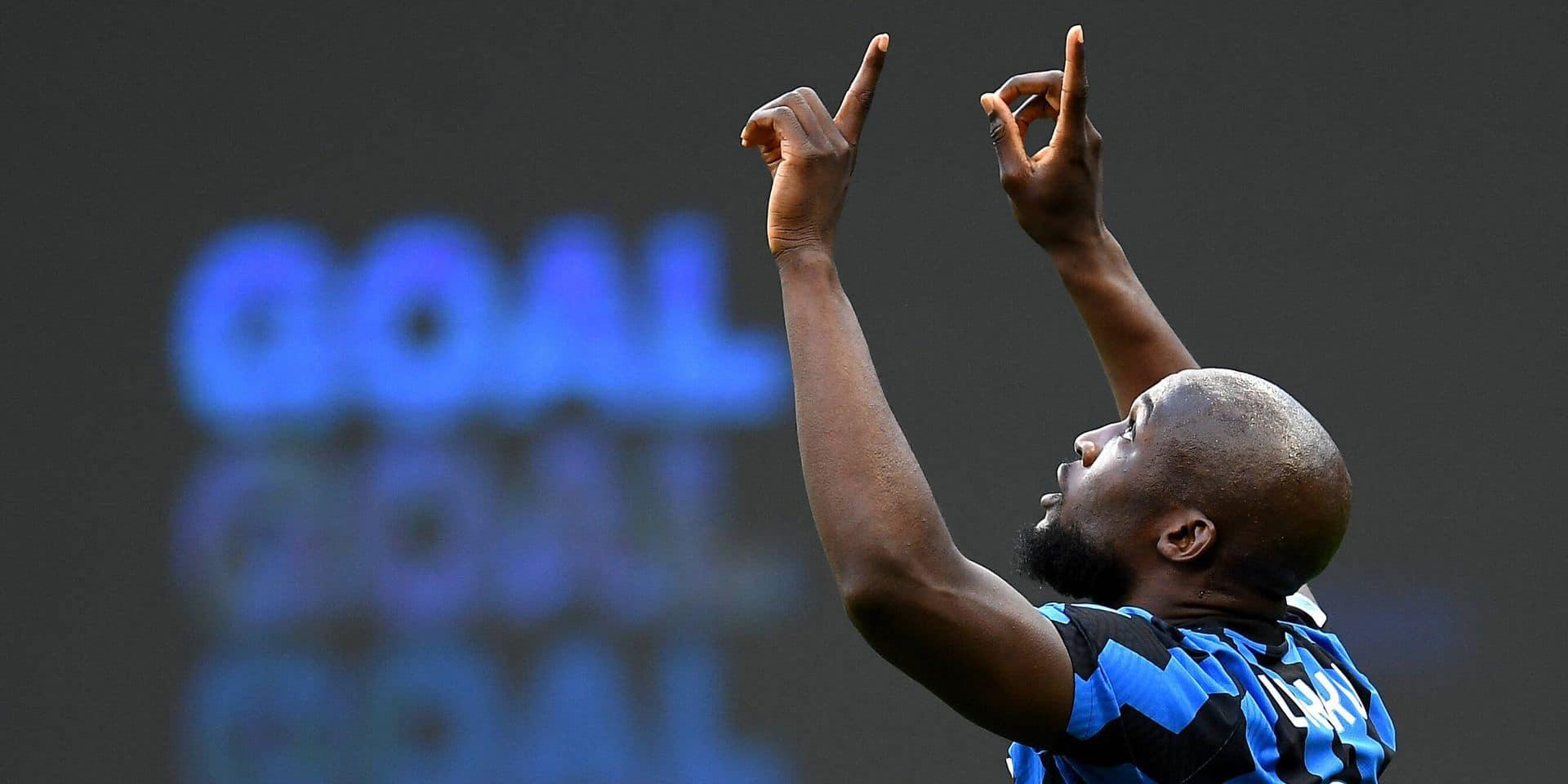 Db Milano 07/04/2021 - campionato di calcio serie A / Inter-Sassuolo / foto Daniele Buffa/Image nella foto: esultanza g