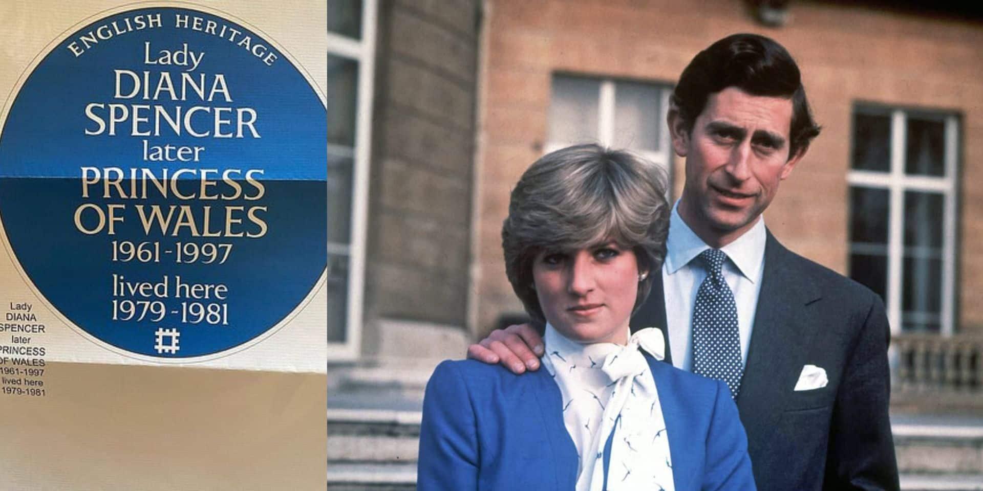 Royaume-Uni: Diana mise à l'honneur par l'English Heritage