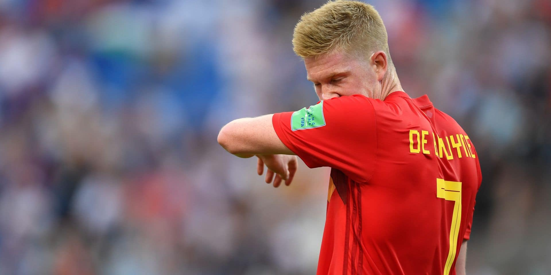 18 June 2018, Russia, Sochi: Soccer: World Cup, preliminary stage, Group G: Belgium vs Panama in the Sochi Stadium. Belgium's Kevin de Bruyne during the match. Photo: Marius Becker/dpa Reporters / DPA