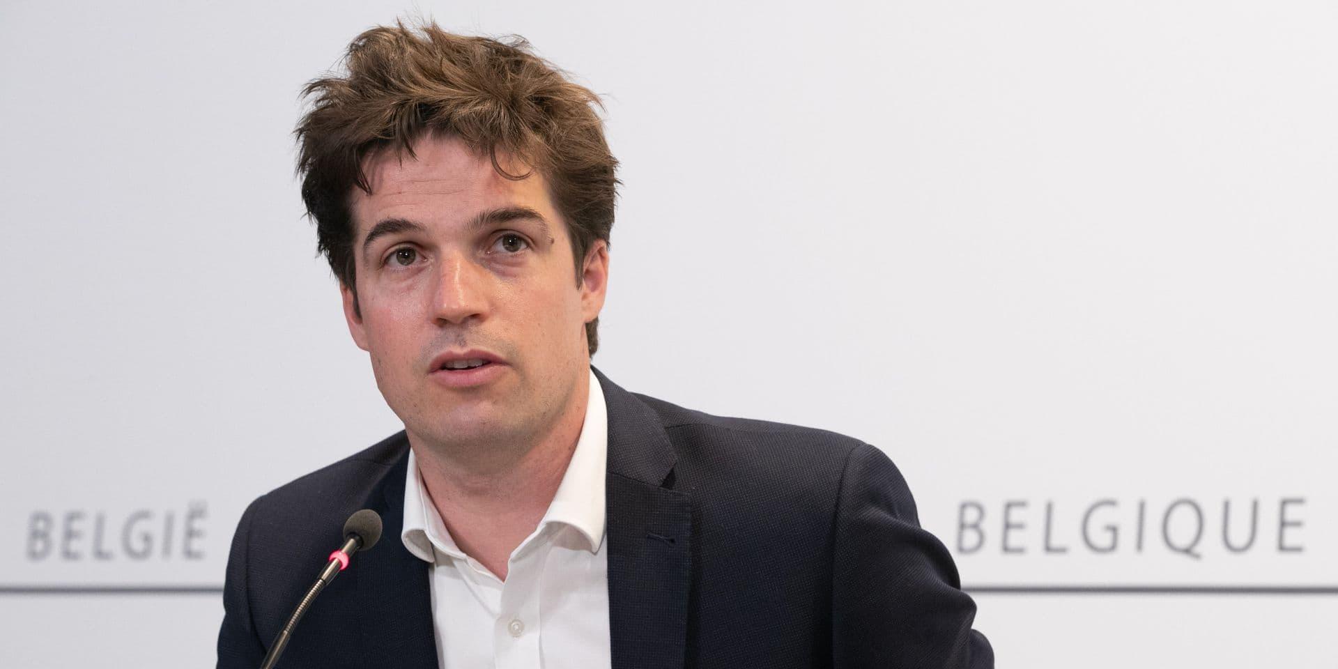 """Thomas Dermine s'exprime sur la crise financière: """"Ne tombons pas dans les calculs de boutiquiers"""""""
