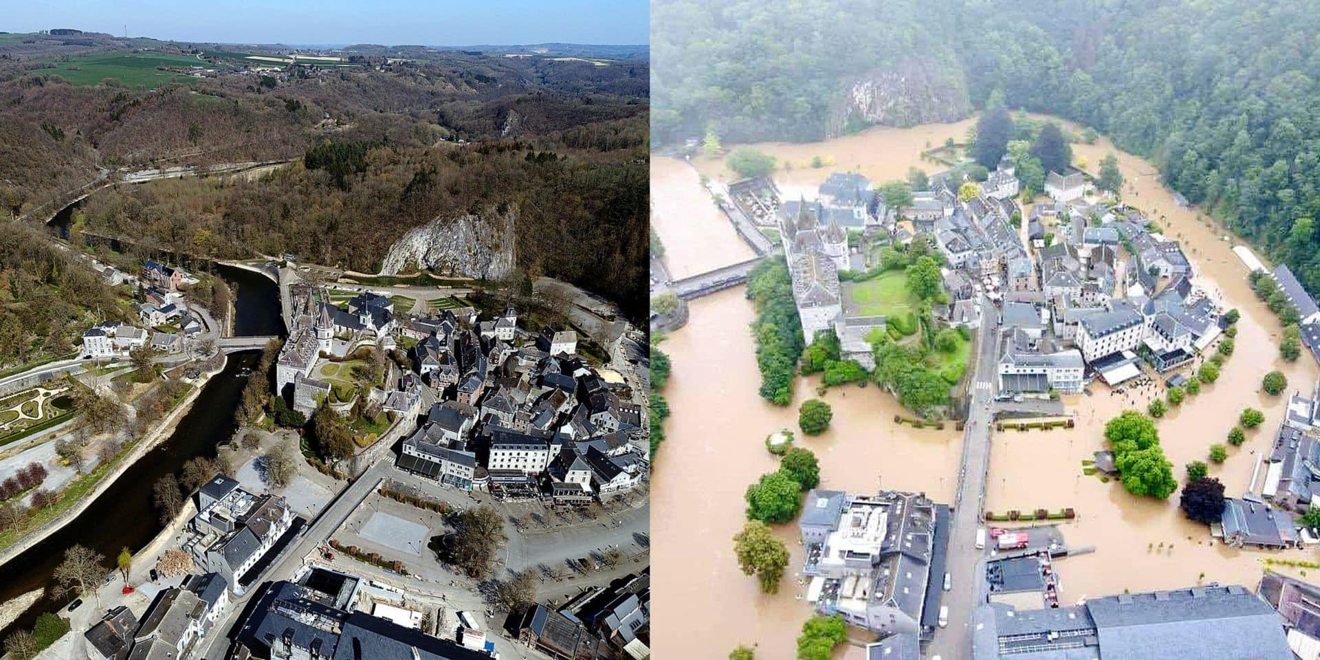 Durbuy sous eau : de gros dégâts pour la plus petite ville du monde