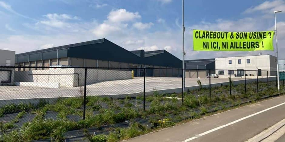 Dossier Clarebout à Frameries: les riverains seront entendus au parlement le 11 mai prochain