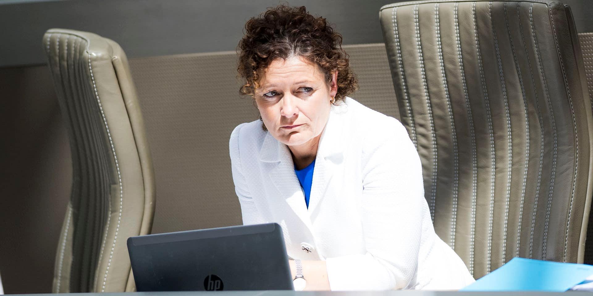 Lydia Peeters devient la nouvelle ministre flamande du Budget, des Finances et de l'Énergie