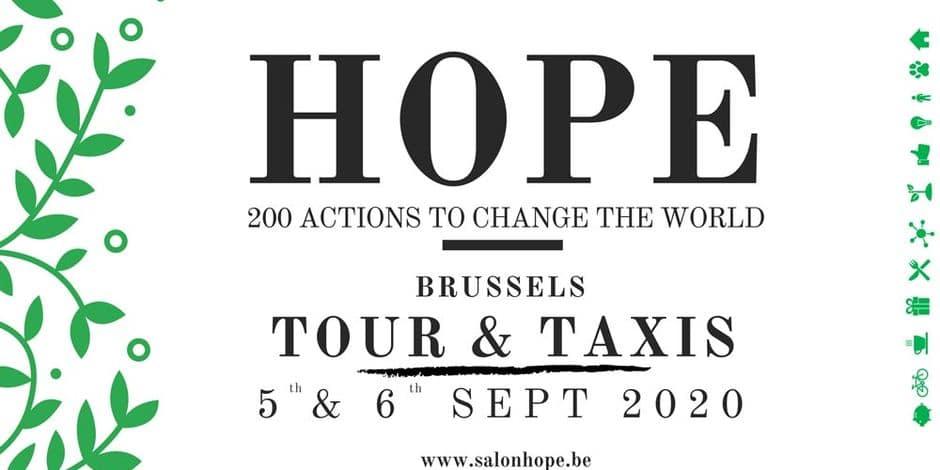Le salon Hope d'octobre toujours d'actualité, mais celui de septembre est reporté