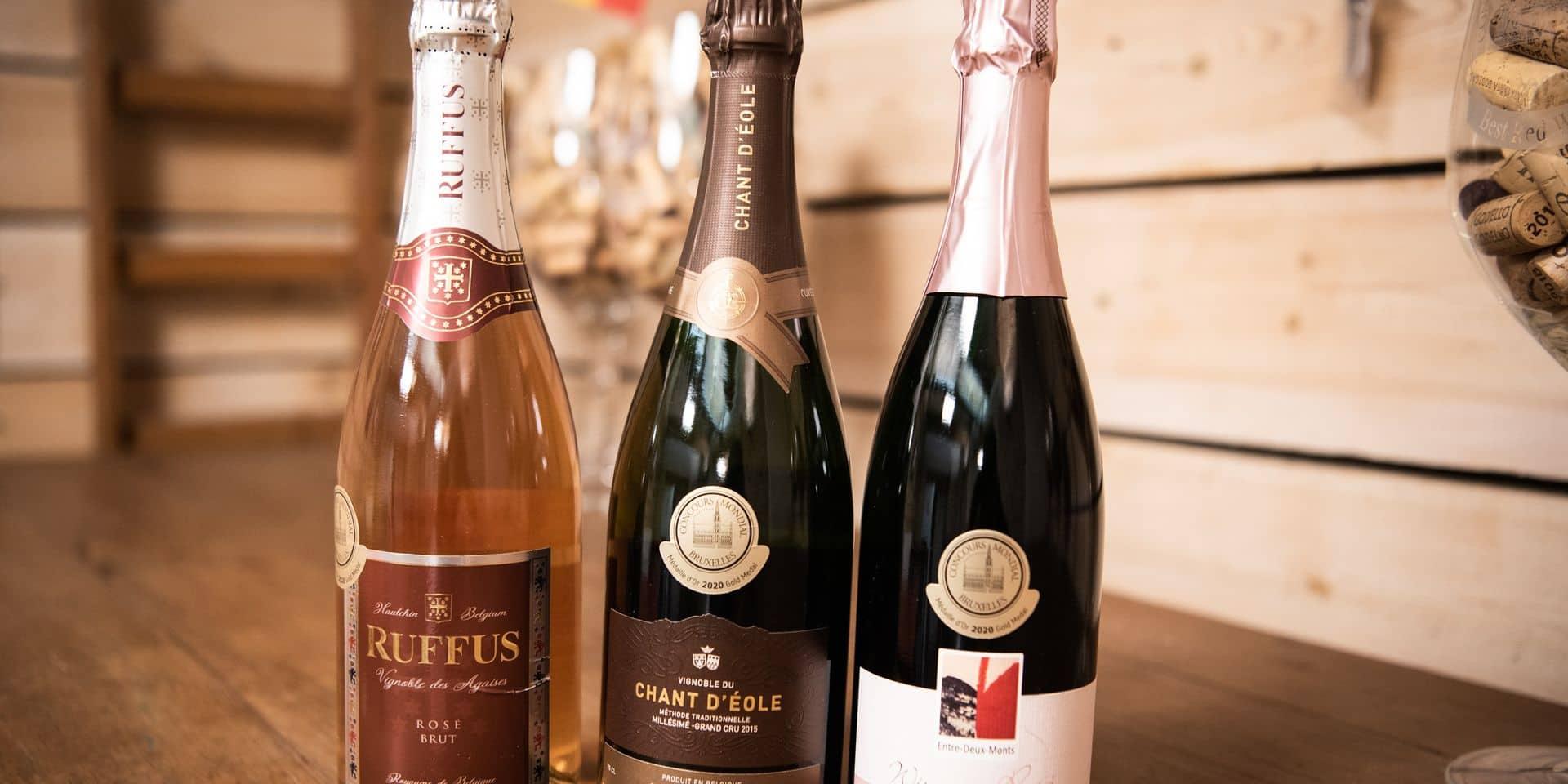 Les vignerons belges ont la cote: six vins mousseux récompensés au mondial de Bruxelles!