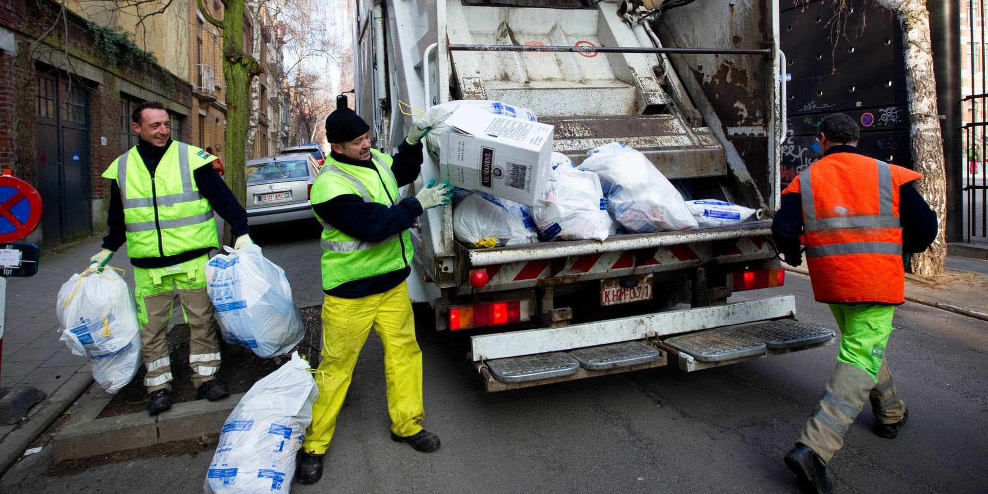 Grève à Bruxelles-Propreté : de 2 à 80% des sacs non collectés selon les communes