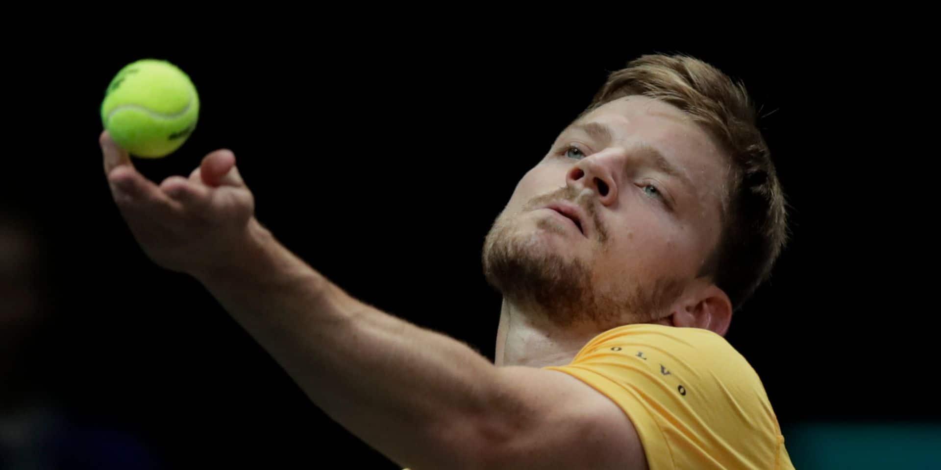 ATP Rotterdam : David Goffin éliminé au 2e tour par Jeremy Chardy