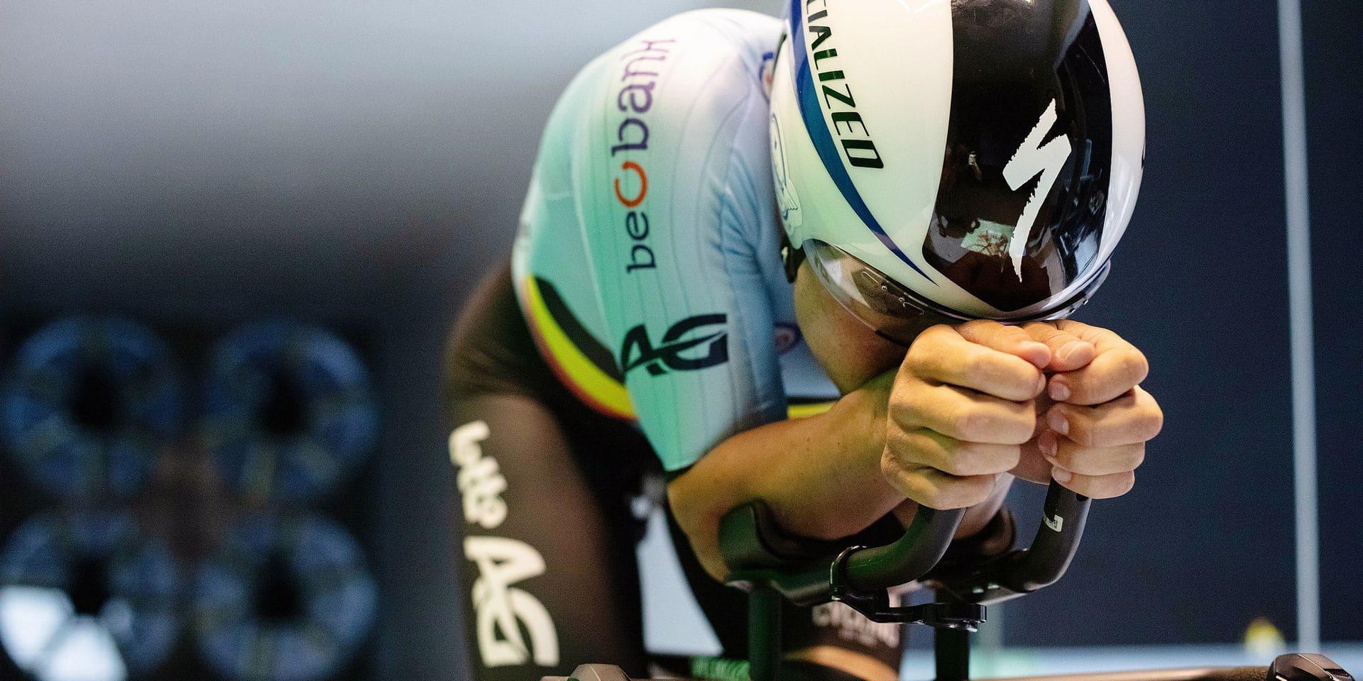 On a visité la soufflerie de Bioracer, la société qui crée les maillots des coureurs de l'équipe nationale belge