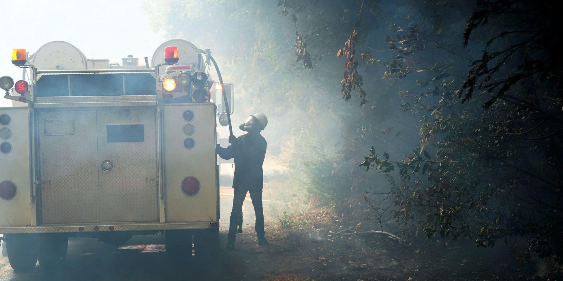 Incendies en Californie: plus de 200 personnes évacuées par hélicoptère
