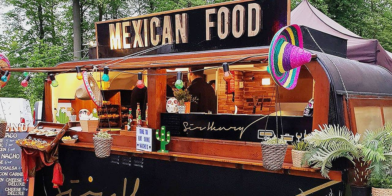 Un festival de food trucks