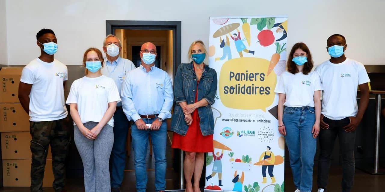 Liège: près de 8000 paniers repas distribués par l'Université !
