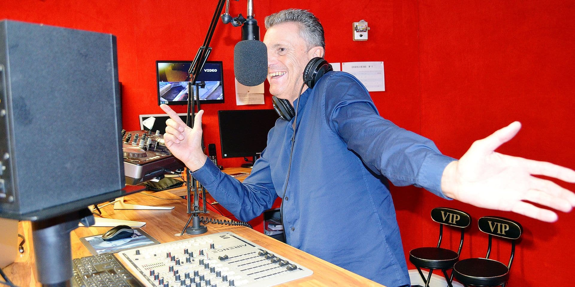 DJ Foxy au micro depuis 40 ans
