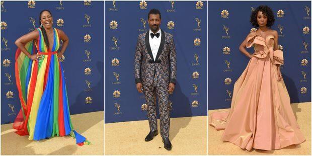 Emmy Awards : les stars ont sorti leur plus beau look sur le tapis rouge - La DH