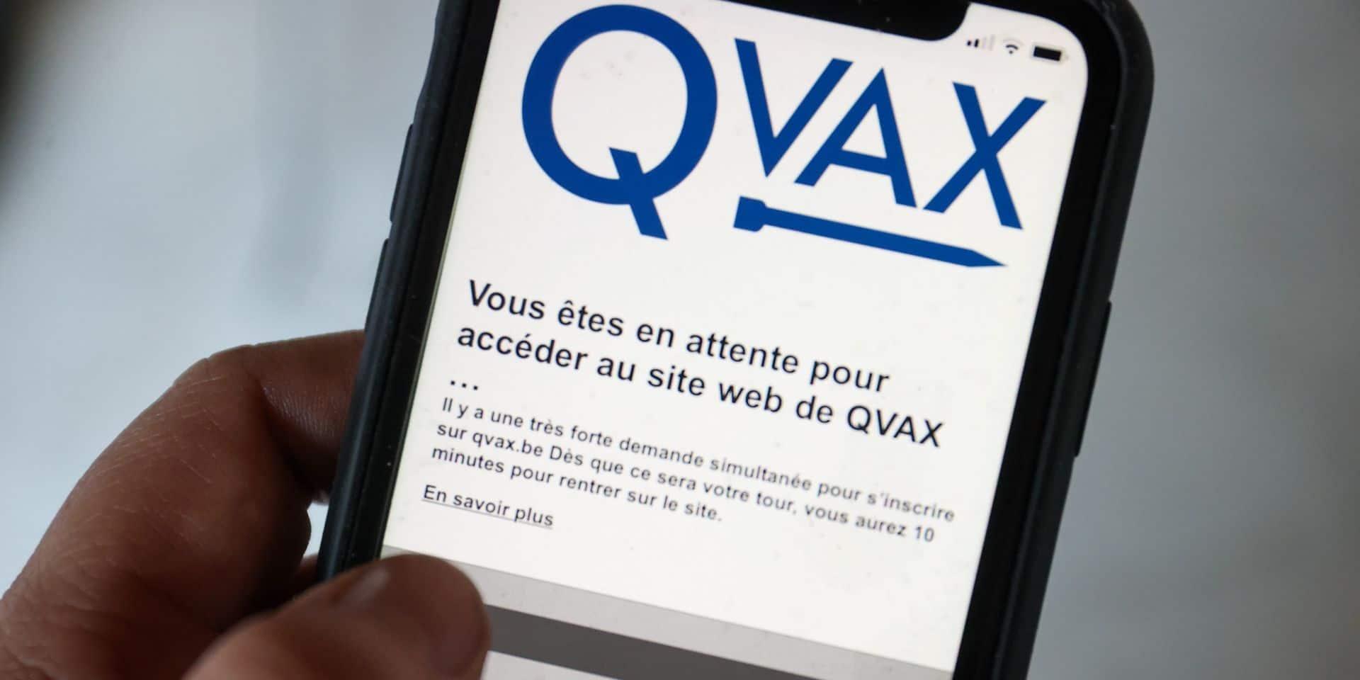 Près de 330.000 inscrits sur Qvax, gare à ne pas omettre de confirmer l'appel